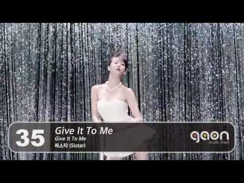 2013 K-POP TOP 50 Mid Year Chart