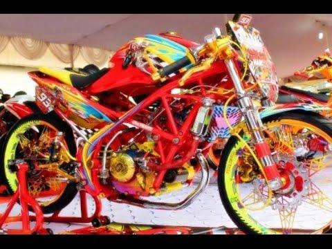 Cah Gagah | Video Modifikasi Motor Honda CB150R Airbrush Keren Terbaru