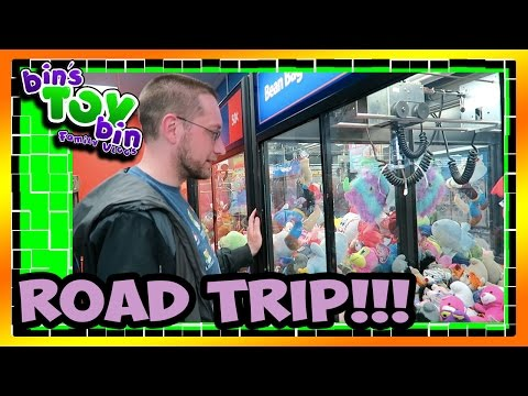 Jon & Bin On a Grand Road Trip!!! 4.30.2016 | Bins Toy Bin Daily Vlogs