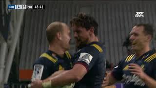 ROUND 12: Highlanders v Chiefs, Forsyth Barr Stadium, Dunedin