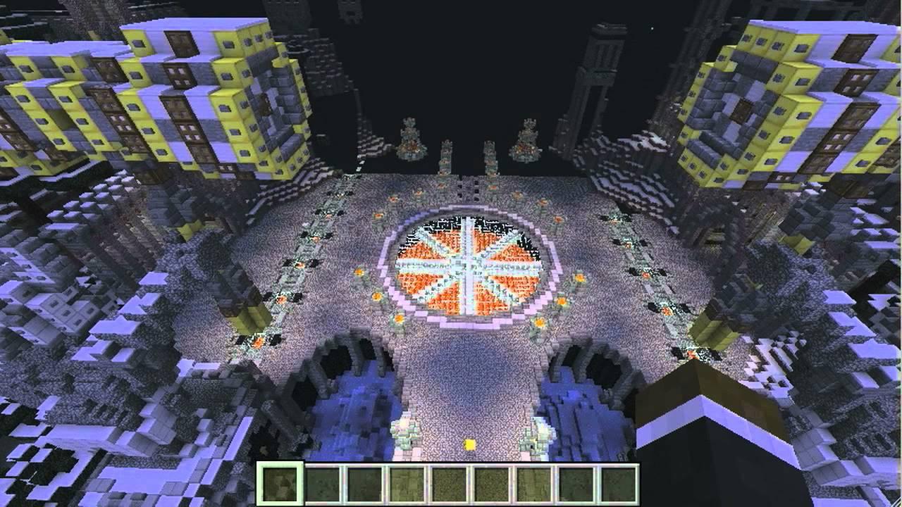 Minecraft Showcase: Dwarf Fortress and City #40