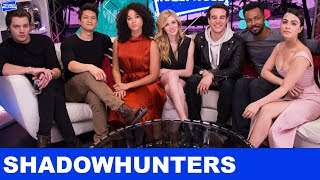 Shadowhunters Cast Take Over The Young Hollywood Studio!