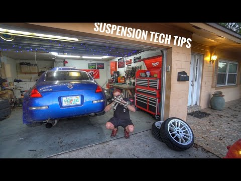 Project Seat Time 350z EP.4 Suspension Arms, Springs, and Alignment