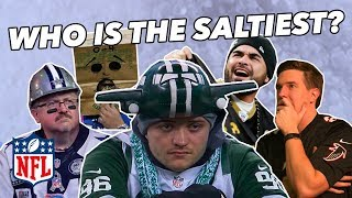 Ranking every NFL FANBASE by SALT CONTENT - a Tier List of sadness