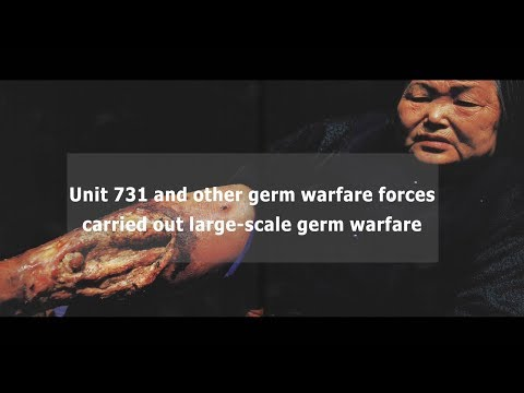 Unmasking Japan's germ warfare project...