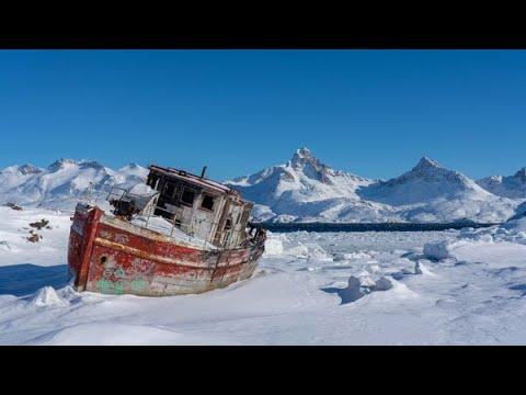 Komfortable Skitouren auf Ost-Grönland Im Land der Inuit Ein Tag unterwegs mit Hundeschlitten