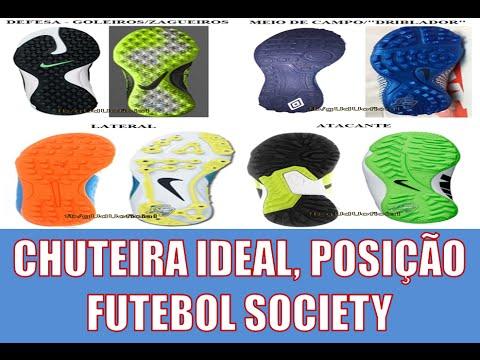c5fdac96e6 Qual Chuteira comprar  futebol (Society)