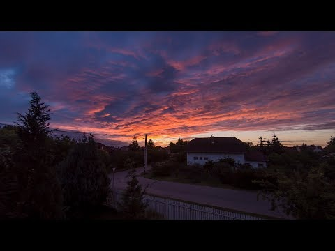4K│Sunset Time-Lapse - Debrecen