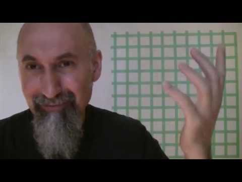 ASMR Math: How To Set-up A Square Grid, 3-4-5 Pythagorean Triple Right Angle Triangle