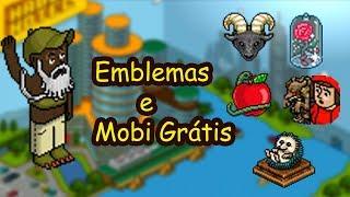 Pegando Emblemas E 1 Mobi De Grátis, Habbo.