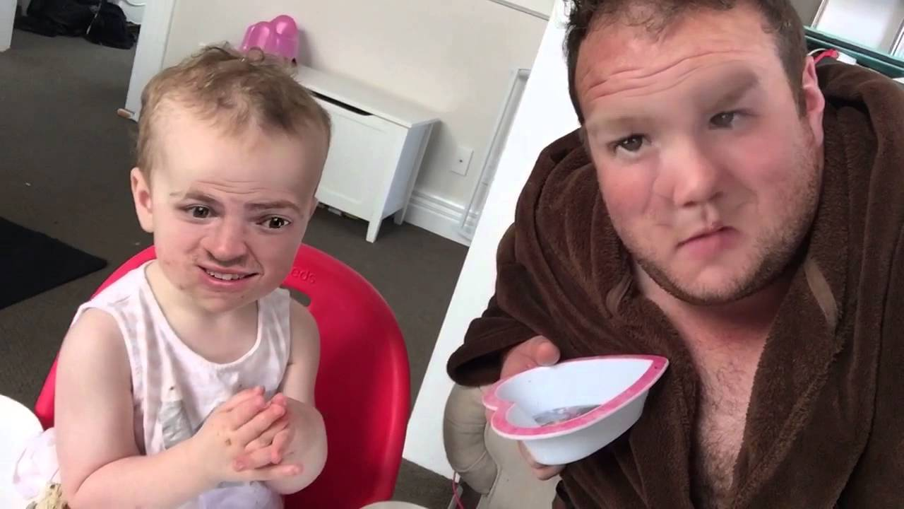 live face swap with a baby youtube