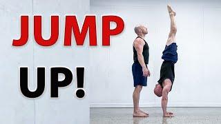 How to Tuck Jขmp to Handstand
