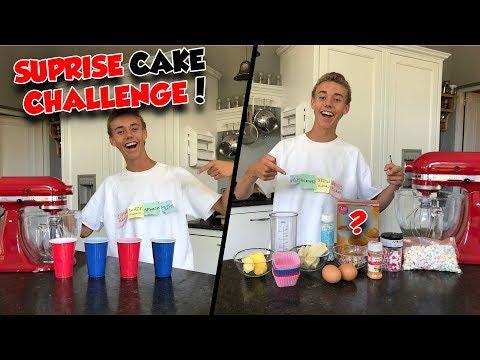 SUPRISE CAKE CHALLENGE! Ft. MIJN MOEDER