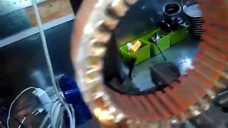 przewijanie stojana alternatora