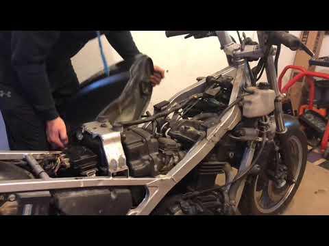 Cafe racer  Kawasaki gpz 500 part 1