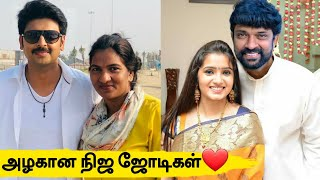 """Kuladheivam Serial""Actors Real Life Partners | Kuladheivam Serial Actors Real Husband And Wife"