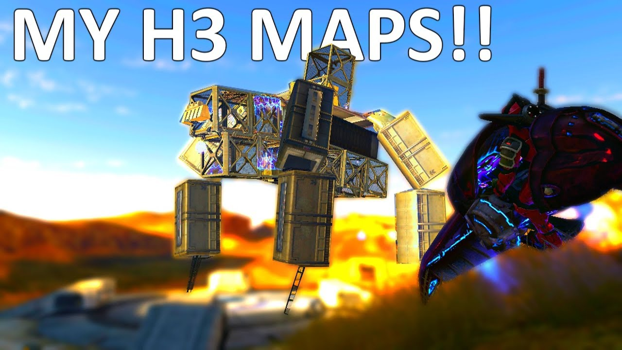 OLD HALO 3 FORGE MAPS (from 2008)