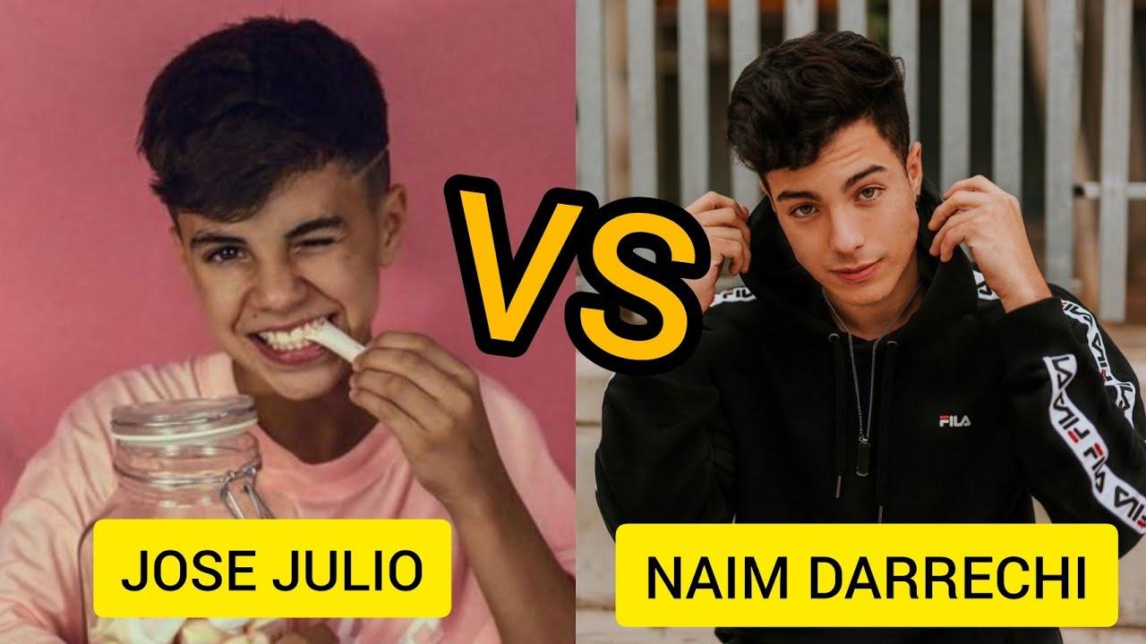 Naim Darrechi Vs Jose Julio Batalla De Tiktoks Youtube