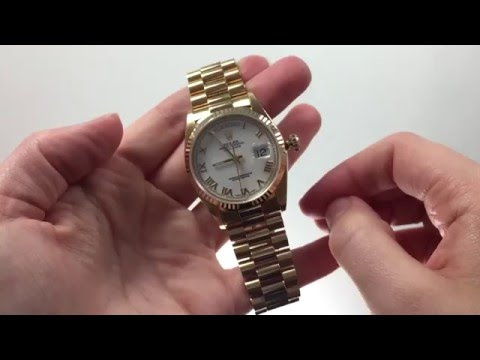 How To Set The Time For The Rolex Day-Date (President)