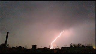 Tormenta Electrica  -  Cd. Nezahualcoyotl - Edo. México [HD]
