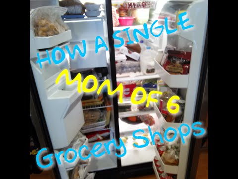 How a Single Mom Of 6 Shops