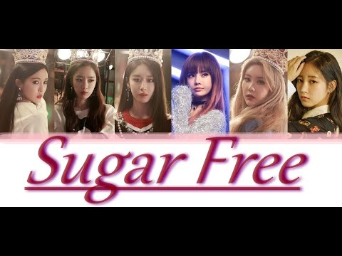 T-ARA - Sugar Free LYRICS (Colour Coded)