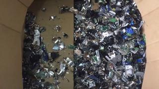 ENERPAT Hard Drive Shredder/Hard Disk Shredder/E waste Shredder