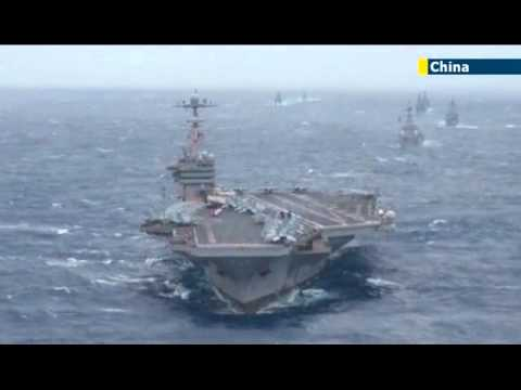 Beijing's first aircraft carrier sails through Taiwan Strait as China-Japan tensions mount