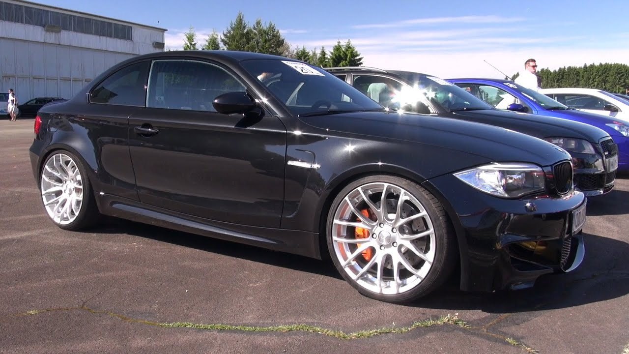 Bmw 1m Coupe W Eisenmann Race Exhaust Youtube