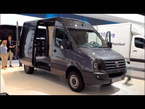volkswagen crafter 2015 in detail review walkaround interior
