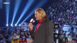 Edge Gives Up The WH Title 4/15/11 WWE Smackdown