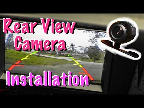 How To Install An Aftermarket Rear View Camera In Your Car