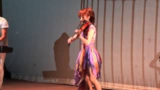 """Lindsey Stirling - """"Song Of The Caged Bird"""" - Red Rocks - 05/28/15"""