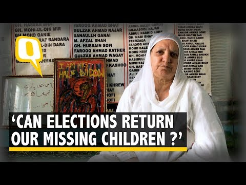 Mothers in Kashmir Ask, Can Elections Return My Missing Children? | The Quint
