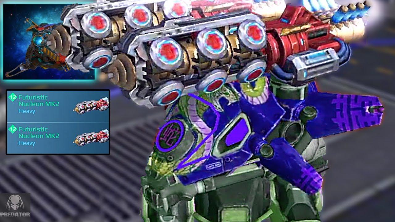 Futuristic Carnage Nucleon Underrated & Tearing Through Enemies - Carnage Destruction On KillStreak