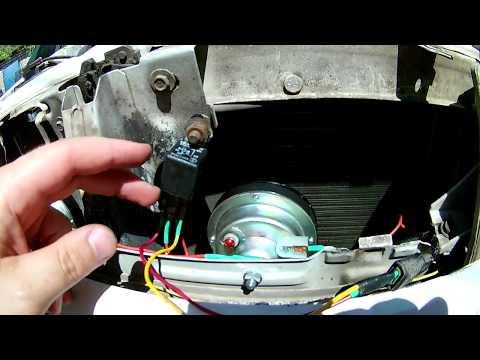 Сигналы ГАЗ в ВАЗ 2110 установка с подключением.(схема в конце видео)