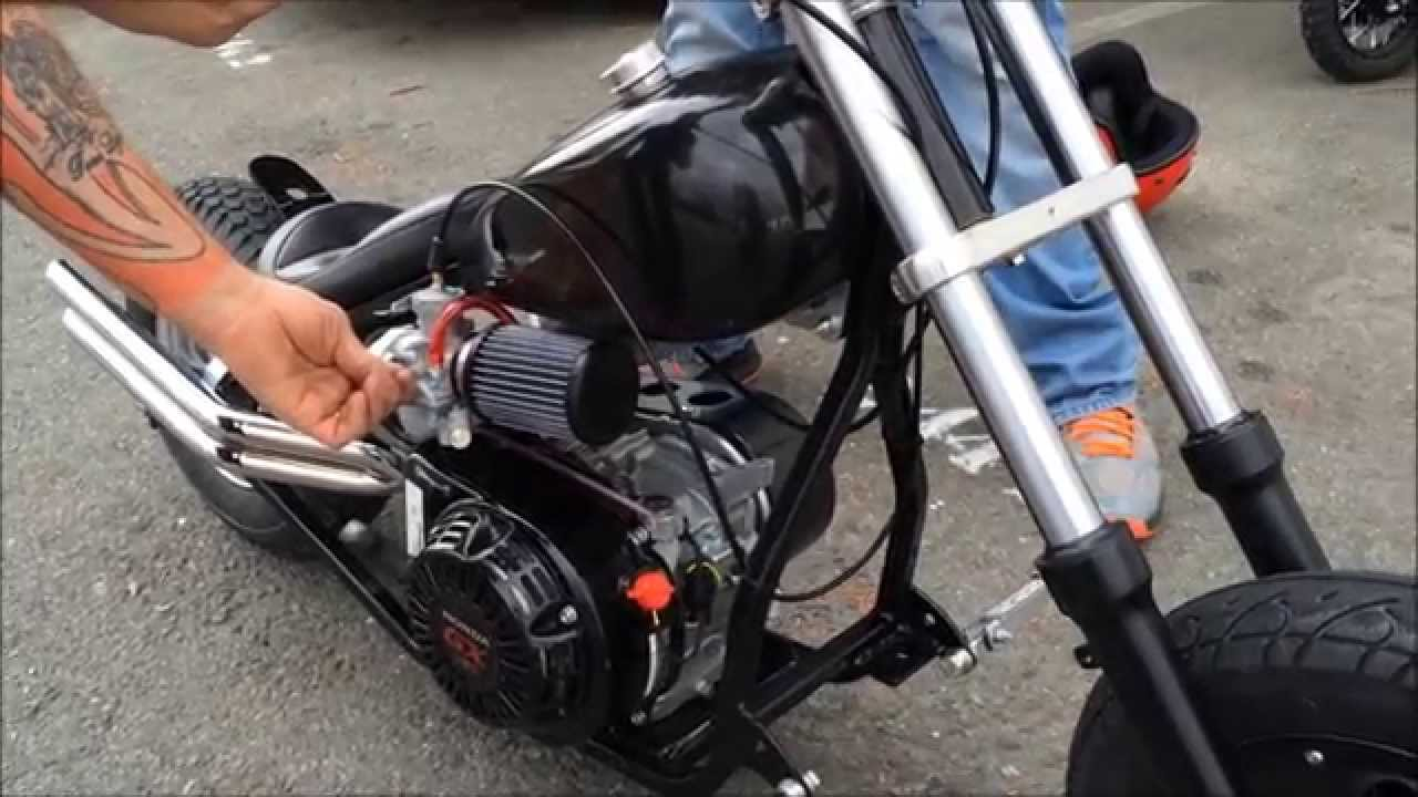Little Badass Minichopper Test Ride