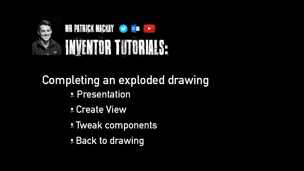 Autodesk inventor 2013 tutorial | creating exploded drawing views.