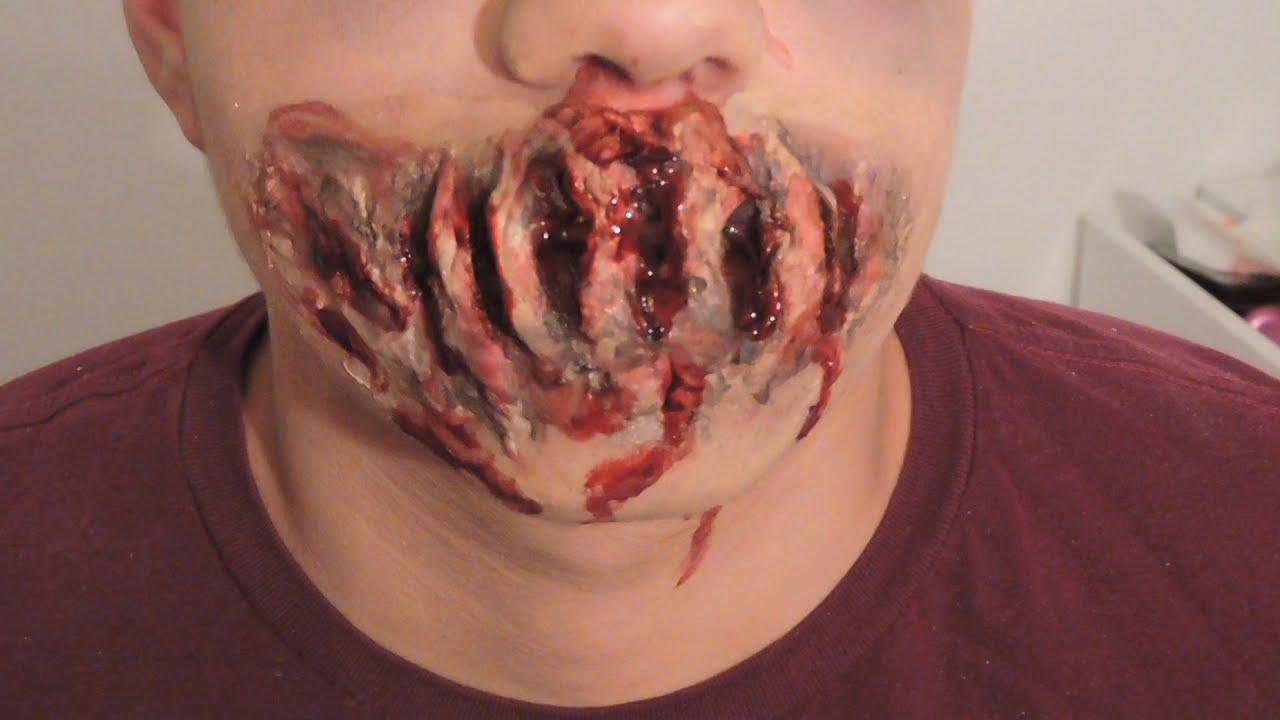 Disfraz De Monstruo | Zombie Makeup | Monster Makeup | Disfraz Fácil image
