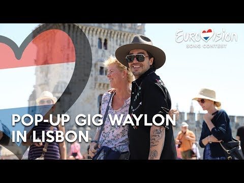 Pop-up gig Waylon in Lisbon - Outlaw In 'Em | TeamWaylon