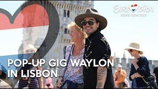 Pop-up gig Waylon in Lisbon - Outlaw In 'Em | TeamWaylon