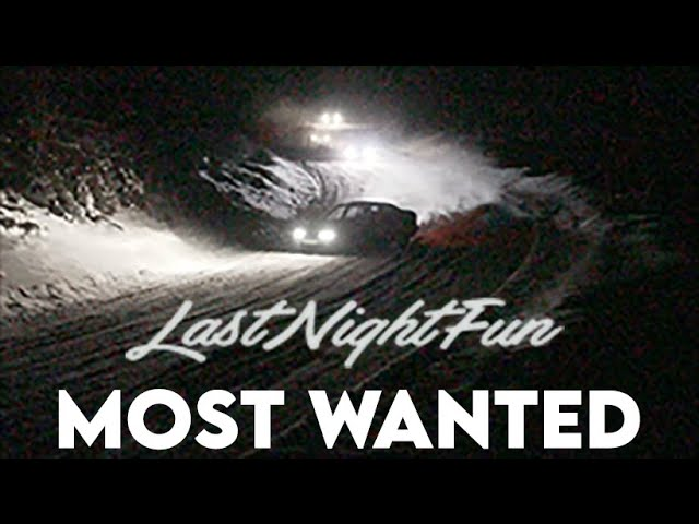 l LAST NIGHT FUN l MOST WANTED WINTER DRIFTERS - NIGHT FOREST DRIFTING IN ESTONIA !ENG SUBS!
