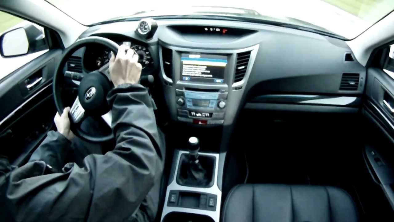2011 Subaru Legacy 2.5 GT - WINDING ROAD Quick Drive - YouTube