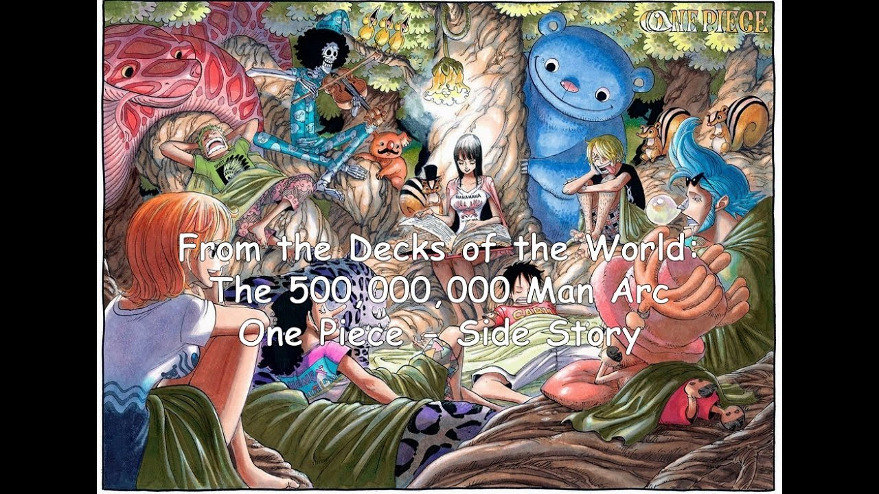 From the Decks of the World: The 500000000 Man Arc - One ...