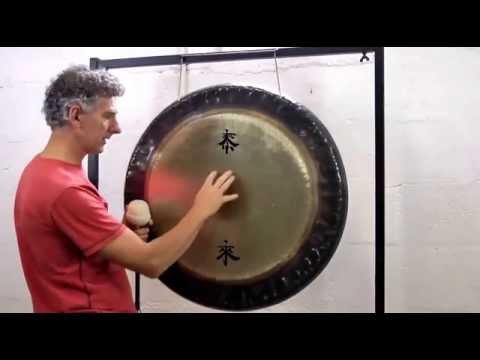 Gong Healing - How To Play Gongs