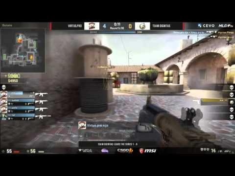 Aizy clutch + ace AGAINST Virtus.Pro!