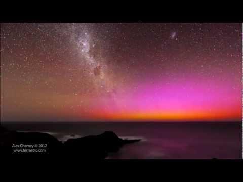 Red Aurora Australis