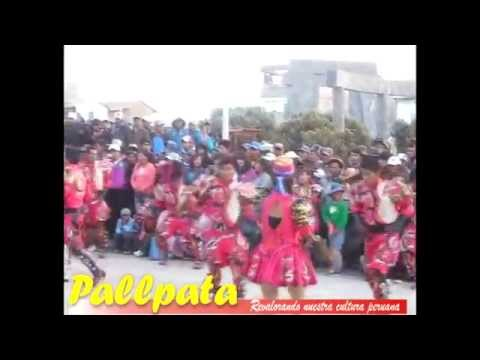 Danzas por aniversario del Distrito de Pallpata