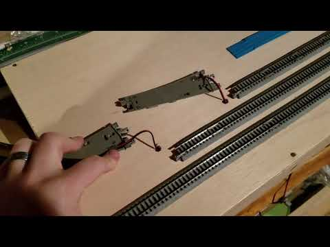 [N-scale diversion] 1 - Building first T-Trak module