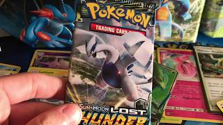 *NEW SET* POKEMON LOST THUNDER 9X Booster Pack Opening!
